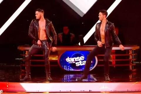 DALS, le grand show : Le duo Baptiste Giabiconi/Maxime Dereymez enflamme Twitter