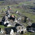 Aperçu du village de Carlat, dans le Cantal