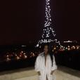 Georgina Rodriguez, jeune compagne de Cristiano Ronaldo, à Paris. Photo Instagram fin 2016.