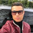Cristiano Ronaldo, dernier selfie en date avant son 32e anniversaire le 5 février 2017. Photo Instagram.