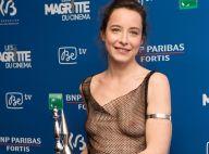 Salomé Richard : Seins nus aux Magritte du cinéma, elle justifie son look osé