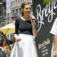 Allison Williams au 150ème anniversaire de la marque de glace Breyers à New York le 22 juin 2016.