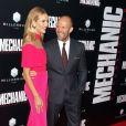 Rosie Huntington-Whiteley et son mari Jason Statham à la première de Mechanic: Resurrection aux cinémas The Arclight à Hollywood, le 22 août 2016