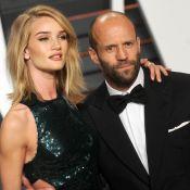 Rosie Huntington-Whiteley enceinte : Jason Statham bientôt papa !