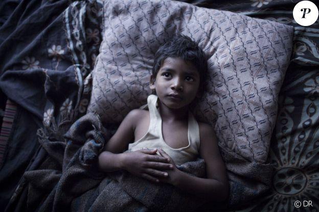 Sunny Pawar dans le film Lion.