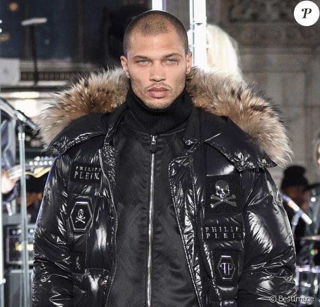 Jeremy Meeks - Défilé de mode Philipp Plein collection prêt-à-porter Automne Hiver 2017-2018 lors de la fashion week à New York, le 13 février 2017.