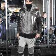 Anwar Hadid - Défilé de mode Philipp Plein collection prêt-à-porter Automne Hiver 2017-2018 lors de la fashion week à New York, le 13 février 2017.