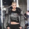 Elsa Hosk - Défilé de mode Philipp Plein collection prêt-à-porter Automne Hiver 2017-2018 lors de la fashion week à New York, le 13 février 2017.