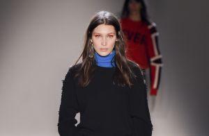 Fashion Week : Bella Hadid, radieuse, enchaîne les défilés