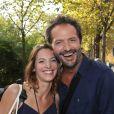 Exclusif - Elodie Varlet et Jean-Charles Chagachbanian arrivent pour l'enregistrement d'une émission tv au studio Gabriel. Paris, le 14 septembre 2016