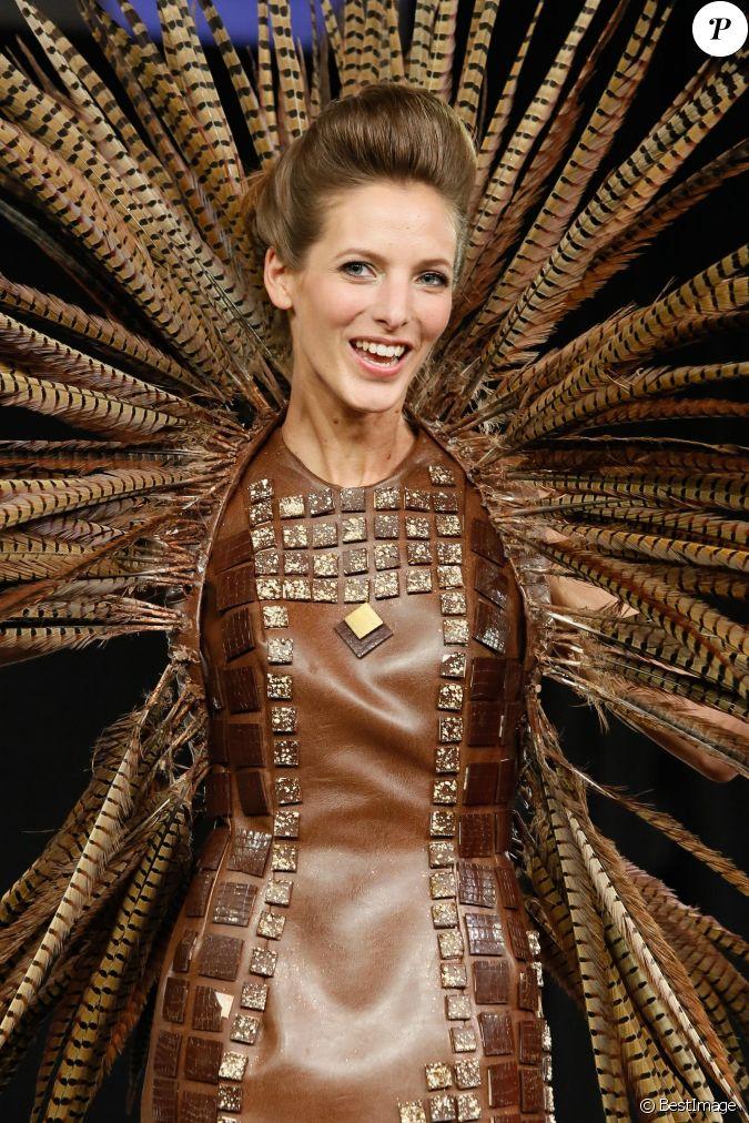 Elodie varlet d fil du 20 me salon du chocolat 2014 au for Salon du x porte de versailles