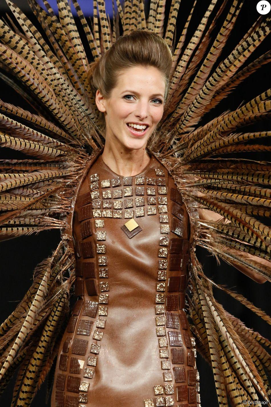 Elodie varlet d fil du 20 me salon du chocolat 2014 au for Salon porte de versailles 2014