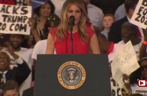 Melania Trump : Glamour, la First Lady lance une prière et répond aux haters