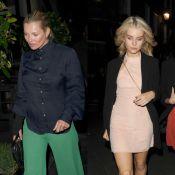Kate et Lottie Moss : Les soeurs de sortie en pleine Fashion Week