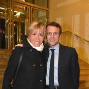 Emmanuel et Brigitte Macron face à François Hollande et Karine Le Marchand