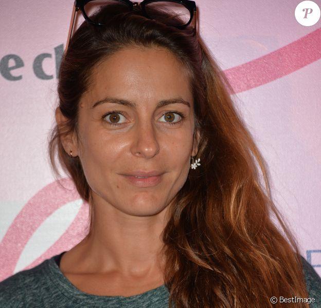 Audrey Dana - Soirée de lancement d'Octobre Rose (le mois de lutte contre le cancer du sein) au Palais Chaillot à Paris le 28 septembre 2015.