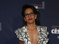 Audrey Pulvar en robe échancrée et décolleté plongeant : Look sexy aux César