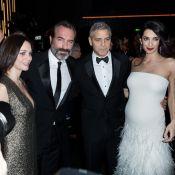 George Clooney et Amal s'éclatent au Fouquet's avec Jean Dujardin et sa chérie