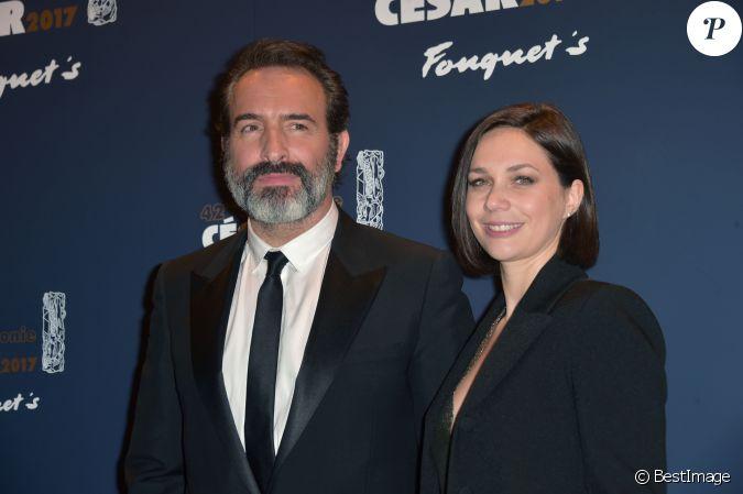 Jean dujardin et sa compagne nathalie p chalat photocall for Jean dujardin et sa nouvelle copine