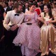 Jamie Dornan, Dakota Johnson avec leurs invités - Intérieur - 89ème cérémonie des Oscars au Hollywood & Highland Center à Hollywood © AMPAS/Zuma/Bestimage