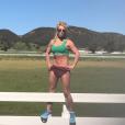 Britney Spears dévoile son corps tonique et musclé sur Instagram le 1er mars 2017