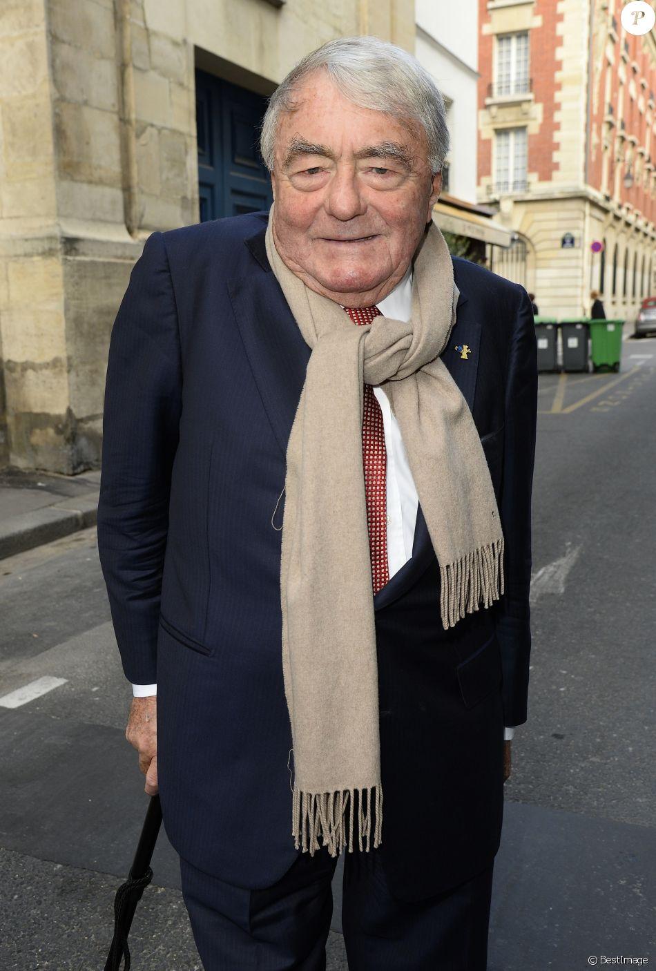 Claude Lanzmann - Soirée du nouvel an juif chez Marek Halter à Paris le 20 septembre 2015.