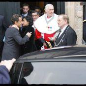 Rachida Dati, une fin de journée en apothéose avec... le baiser de Nicolas Sarkozy !