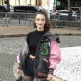 """Charlotte Le Bon au défilé de mode """"Miu Miu"""", collection prêt-à-porter Automne-Hiver 2017-2018 à Paris, le 7 Mars 2017. © Pierre Perusseau/Bestimage"""