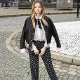"""Thylane Blondeau au défilé de mode """"Miu Miu"""", collection prêt-à-porter Automne-Hiver 2017-2018 à Paris, le 7 mars 2017. © Pierre Perusseau/Bestimage"""