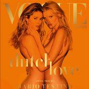Doutzen Kroes et Lara Stone, nues l'une contre l'autre : Un anniversaire torride