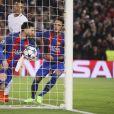 """Neymar - 8ème de finale de la Champions League """"FC Barcelone - PSG"""" au Camp Nou à Barcelone. Le PSG a subit une défaite unique dans l'histoire de la compétition en perdant 6-1 au match retour après avoir gagné 4-0 au match aller. Barcelone, le 8 mars 2017."""