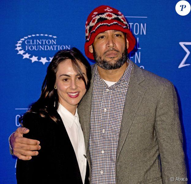 Ben Harper et sa femme à la soirée Opening Plenary Session : The Future of Impactlors du sommet de la fondation Clinton à New York, le 27 septembre 2015