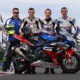 Anthony Delhalle, quintuple champion du monde d'endurance moto avec le Suzuki Endurance Racing Team (SERT), a trouvé la mort le 9 mars 2017 lors d'une séance d'essais sur le circuit de Nogaro (Gers). Il avait 35 ans... Photo du SERT sur sa page Facebook pro.