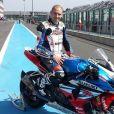Anthony Delhalle, quintuple champion du monde d'endurance moto avec le Suzuki Endurance Racing Team, a trouvé la mort le 9 mars 2017 lors d'une séance d'essais sur le circuit de Nogaro (Gers). Il avait 35 ans... Photo de sa page Facebook pro (2014).