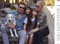 "Johnny Hallyday : ""Un guerrier"" face au cancer, les premiers mots de Laeticia"