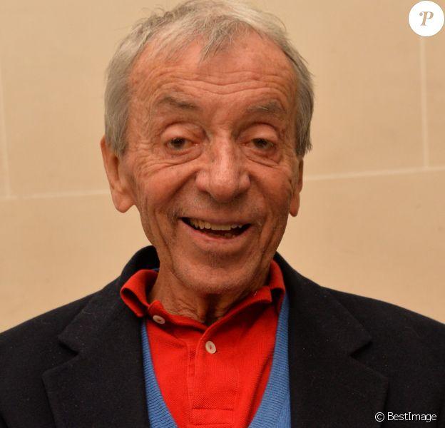 Pierre Bouteiller - Remise du Prix Philippe Caloni 2014 à la Scam (Société Civile des Auteurs Multimedias) à Paris le 25 novembre 2014.
