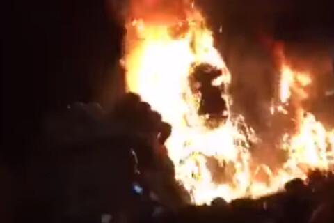 Kong - Skull Island : Incendie dévastateur à l'avant-première !