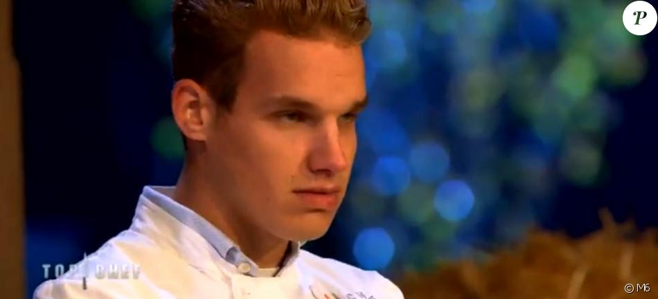 """Maximilien est éliminé - """"Top Chef 2017"""" sur M6, le 15 mars 2017."""