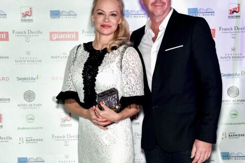 Pamela Anderson éternellement jeune avec Bruno Roblès pour un dîner d'exception