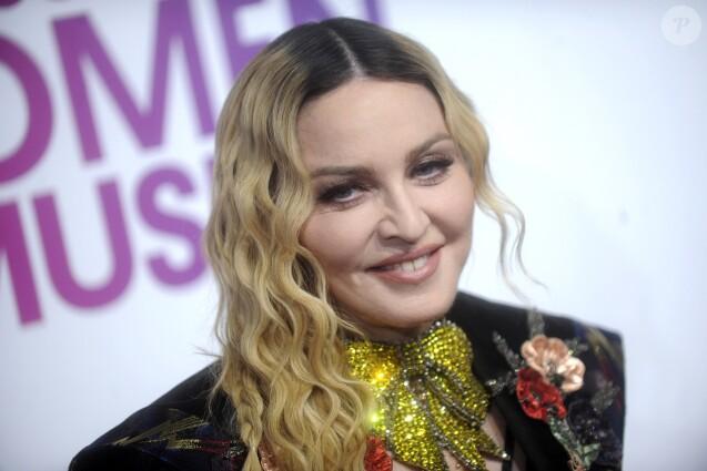 Madonna à la soirée 2016 Billboard Women à New York, le 9 décembre 2016.