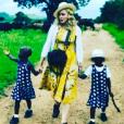Madonna a adopté deux nouvelles jumelles au Malawi - Photo publiée sur Instagram en février 2017