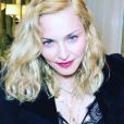 Madonna a publié un selfie sur sa page Instagram en février 2017
