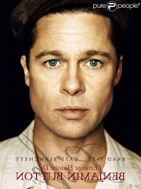 Brad Pitt dans L'étrange histoire de Benjamin Button