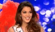 Iris Mittenaere, Miss France et Miss Univers 2016, invité du JT de 13h de TF1 avec Sylvie Tellier, le 16 mars 2017.