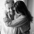 Carla Bruni-Sarkozy souhaite un joyeux anniversaire à son époux Nicolas sur Instagram le 28 janvier 2017.