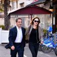 """Nicolas Sarkozy et sa femme Carla Bruni-Sarkozy sont allés diner au restaurant """"La Petite Maison"""" après avoir participé aux Journées d'études du Parti Populaire Européen à l'hôtel Méridien à Nice, le 1er juin 2016."""