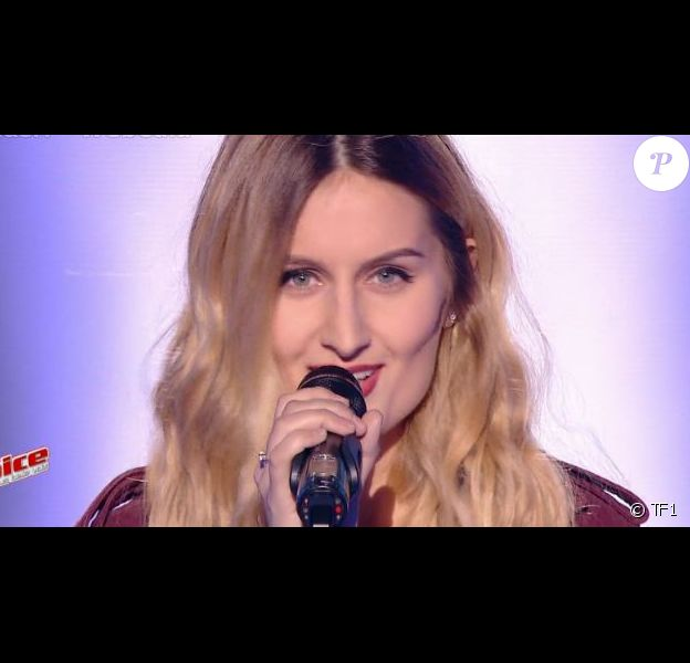 "Lidia Isac - ""The Voice 6"", le 18 mars 2017 sur TF1."