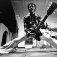 Chuck Berry en concert à Saint Louis le 16 octobre 1986