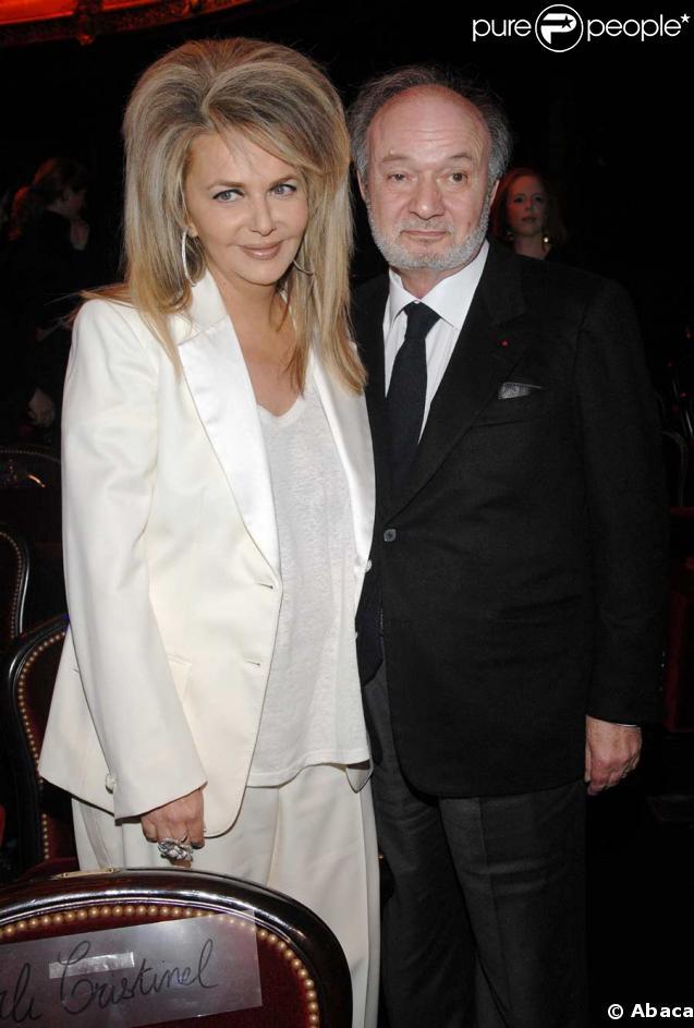 Claude Berri et Nathalie Rheims