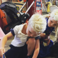 Les enfants de James Van Der Beek et Kimberly Brook, de gauche à droite : Joshua (5 ans), Olivia (6 ans) et Annabel (3 ans).